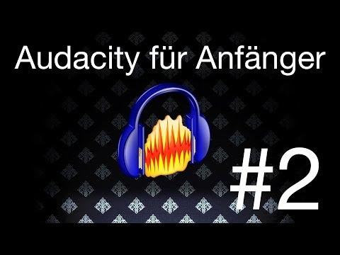 Audacity für Anfänger #2 Aufnahme/Bearbeitung/Lautstärke/Spuren [Screencast] [How-to] [HD]