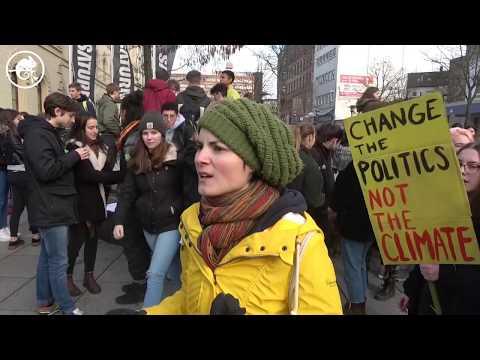 "Klima-Demo ""Fridays for Future"" in Saarbrücken"