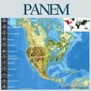 Karte von Panem