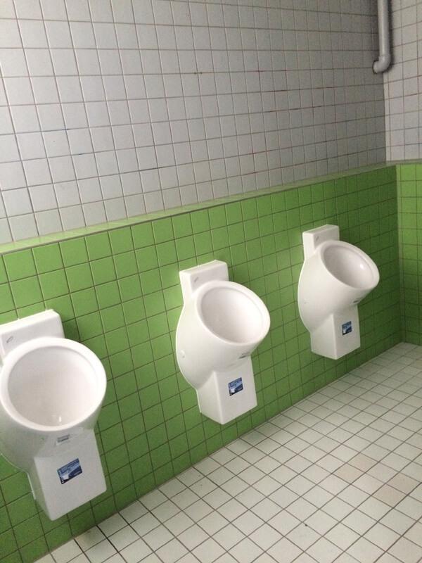 Nouvelles toilettes au LFA