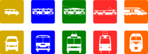 Zug, Bahn, Auto   Wie kommt ihr zur Schule?