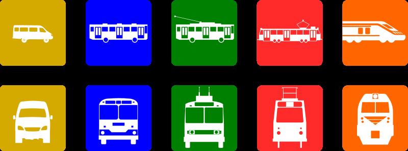 Zug, Bahn, Auto | Wie kommt ihr zur Schule?