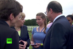 Cérémonie de commémoration du centenaire de la bataille de Verdun