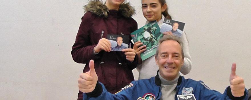 L'astronaute Jean-François Clervoy au LFA
