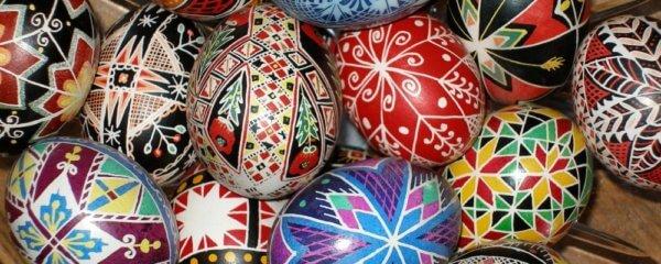 Pysanky - Ukranian Easter eggs