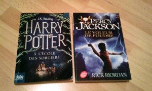 Percy Jackson VS Harry Potter (Photo : Thirion)