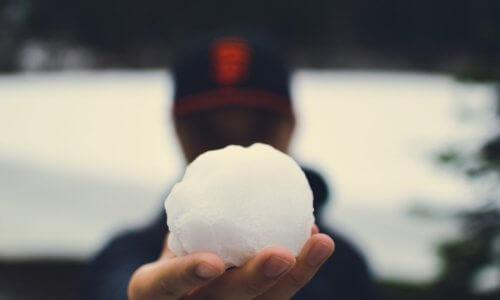 Schneeballverbot am DFG: gut oder schlecht?