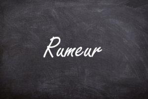 Le mot de la semaine - Rumeur