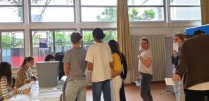 Europäische Jugendwahlen am DFG